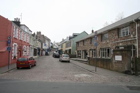 Alderney, Victoria Street